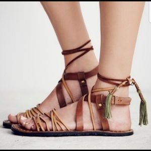 Free people Willow gladiator sandals 8.5
